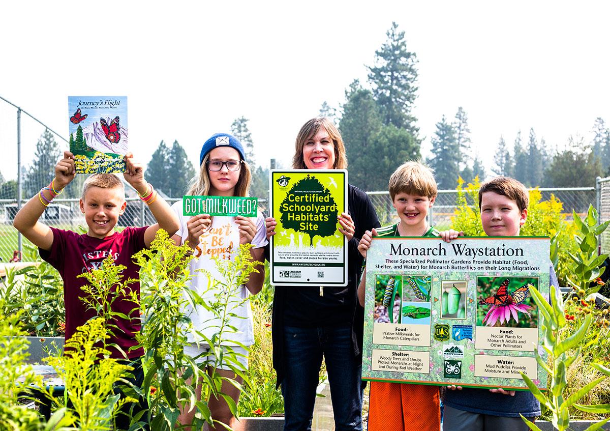 2017-08-28 Certified Schoolyard Habitat Site