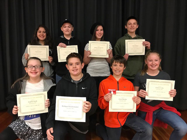 2017-12-01 November Students of the Month