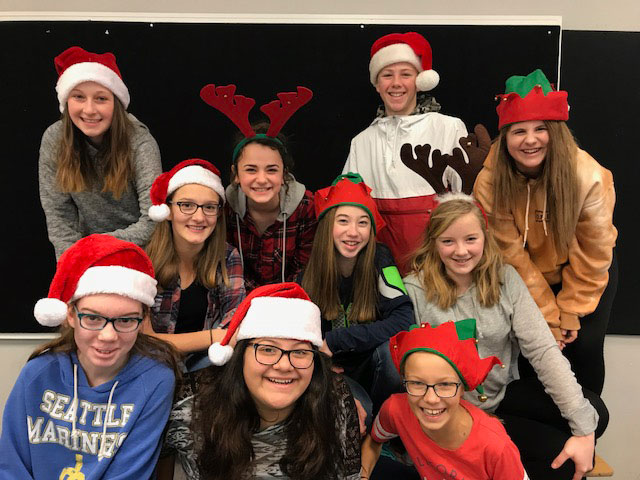 2017-12-11 Leadership Candy Cane-o-gram Delivery